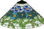 Virág kúp lámpa